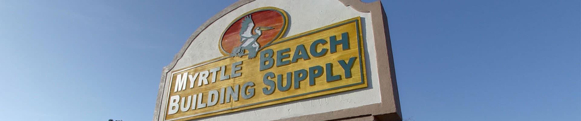 Building Supplies In Murrells Inlet Sc
